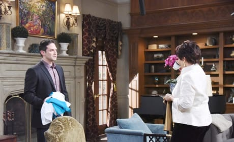 Stefan Confronts His Mother - Days of Our Lives