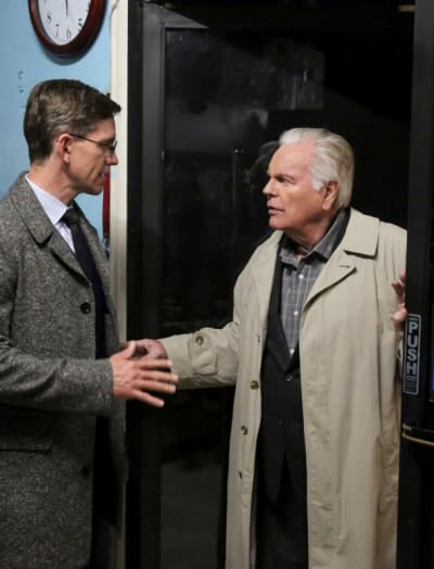 Palmer and DiNozzo Sr - NCIS Season 16 Episode 16
