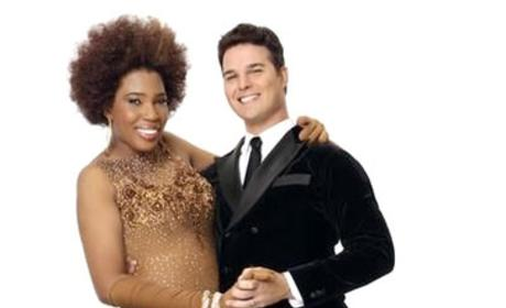 Jonathan Roberts and Macy Gray