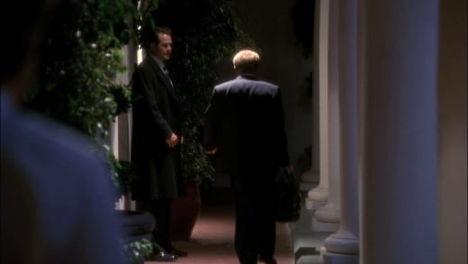 It's Finally Over - The West Wing Season 1 Episode 8