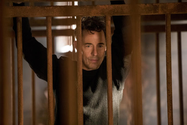 Caged Harry - The Flash
