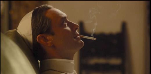 Smoking Pope