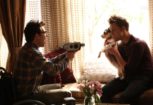 Filming a Dog