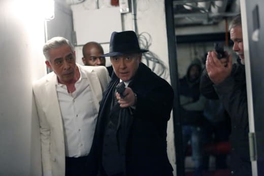 Fighting their way out - The Blacklist Season 4 Episode 13