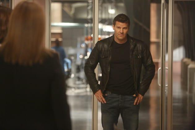 Booth Makes a Decision - Bones Season 10 Episode 22