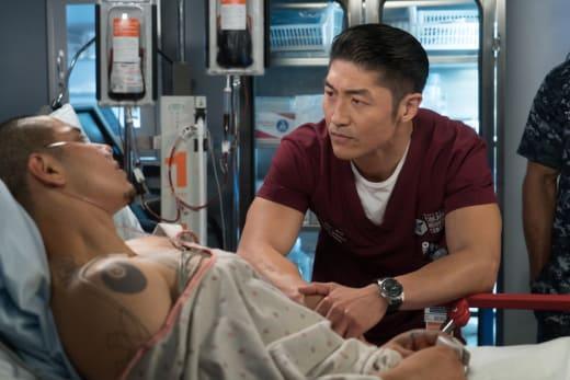 Dr. Choi Plays Mentor - Chicago Med