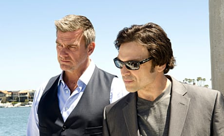 Ray Stevenson and Jason Gedrick on Dexter