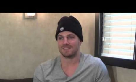 Stephen Amell Q&A