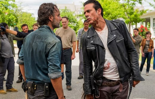Rick vs. Negan - The Walking Dead Season 7 Episode 8