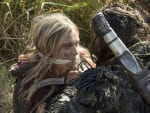 Clarke Held Captive - The 100 Season 3 Episode 2