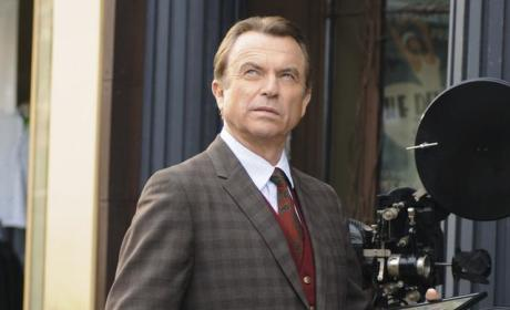Sam Neill on Happy Town