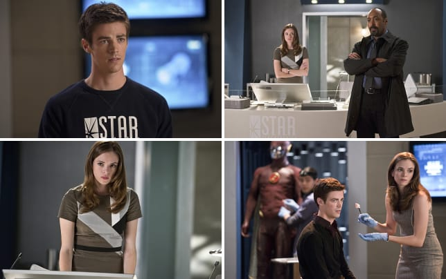 Barry allen sporting star labs the flash s1e2