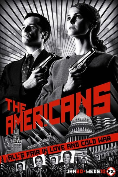 The Americans Poster Two