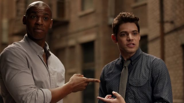 Winn and James - Supergirl