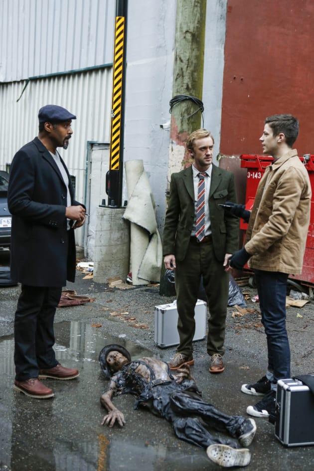 Crime Scene Chat - The Flash Season 3 Episode 12