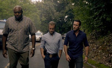 Steve, Danny and Grover - Hawaii Five-0 Season 5 Episode 25