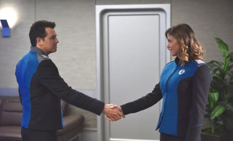 Meeting the First Officer - The Orville