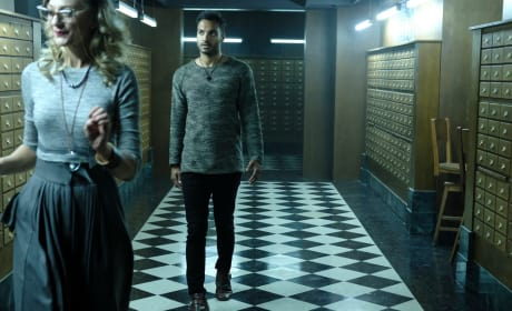 Penny and the librarian  - The Magicians Season 2 Episode 8