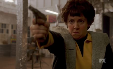 Lena Dunham as Valerie Solanas — American Horror Story Season 7 Episode 7