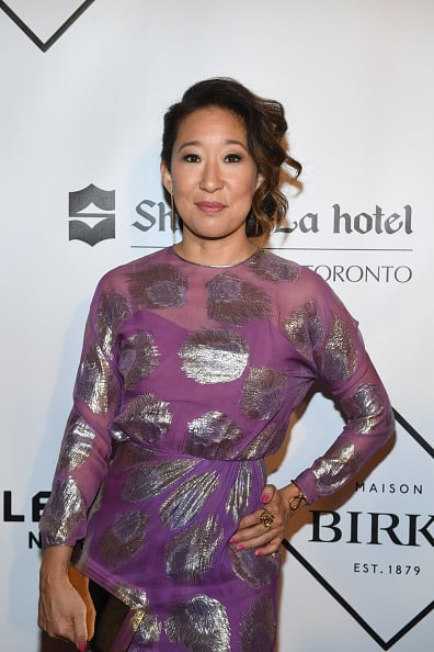 Sandra Oh at Tribute To Women