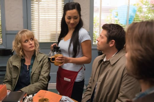 Castiel gets a date - Supernatural Season 12 Episode 12