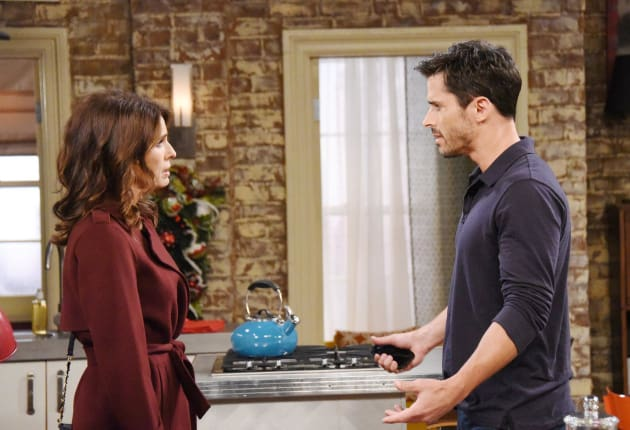 Hope Visits Shawn - Days of Our Lives