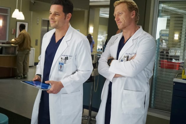 Smiling Surgeons - Grey's Anatomy Season 12 Episode 3
