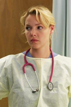 Katherine Heigl as Izzie Stevens