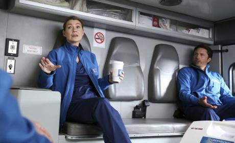 The Ambulance Ride - Grey's Anatomy
