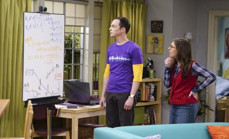 Sheldon Takes an Interest in Amy's Work - The Big Bang Theory Season 10 Episode 19
