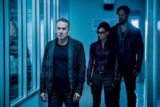 Diaz and Friends - Arrow Season 7 Episode 3