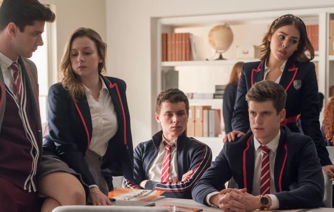 Elite Renewed for Season 2 at Netflix!