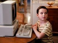 Sheldon's New Computer - Young Sheldon