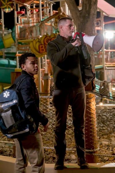Paul and Drew - The Night Shift Season 4 Episode 1