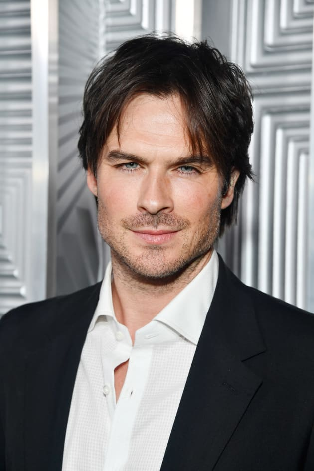 Ian Somerhalder Attends Elle Event