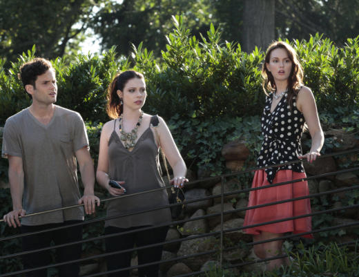 Blair, Dan and Georgina