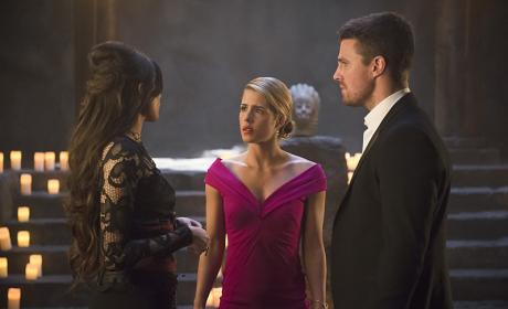 In deep - Arrow Season 4 Episode 20