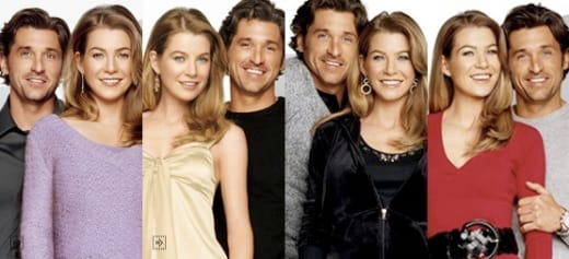 Ellen Pompeo And Patrick Dempsey For New York Company Holiday