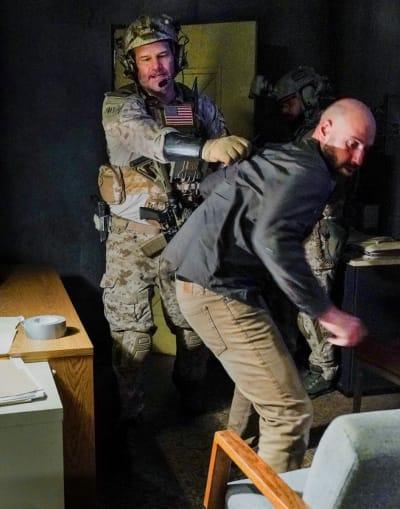 Possible Informant - SEAL Team Season 4 Episode 5