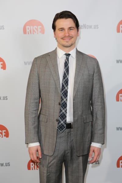 Jason Ritter Attends Fundraiser