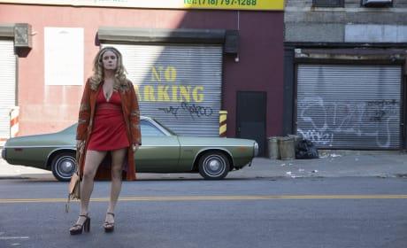 Jamie Neumann on The Deuce Season 1 Episode 7