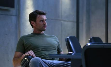 Jake Relaxes - Scandal Season 4 Episode 8