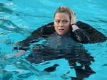 Leslie Takes a Dip