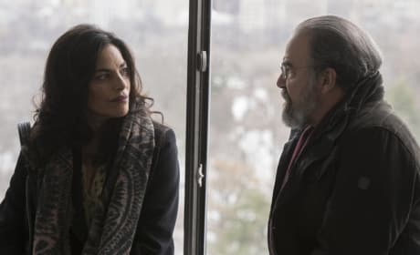 Mira and Saul Say Their Goodbyes - Homeland