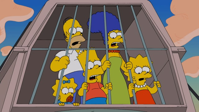 """""""That's right, pick the only two times in history where things got messy."""" The Simpsons"""