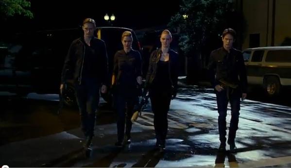 Bill, Jess, Pam and Eric