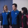 Grayson, Mercer, and Kitan - The Orville Season 1 Episode 9