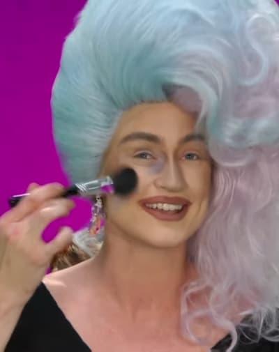 Gottmik Makeup Fail - RuPaul's Drag Race Season 13 Episode 12
