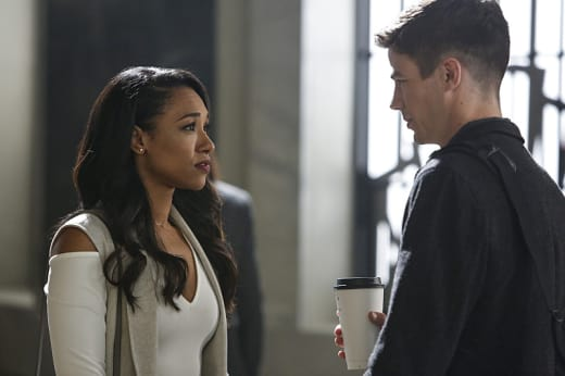 Intimate Moment - The Flash Season 3 Episode 3