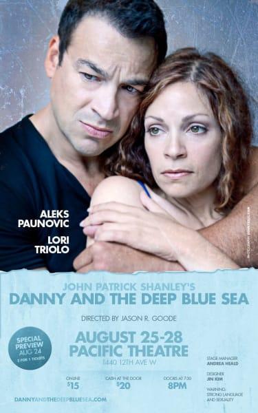 Aleks Paunovic and Lori Triolo in Danny and the Deep Blue Sea - Snowpiercer